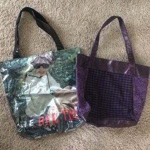 2 Taylor Swift merchandise bags